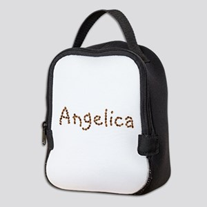 Angelica Coffee Beans Neoprene Lunch Bag