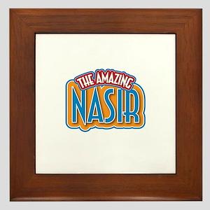 The Amazing Nasir Framed Tile