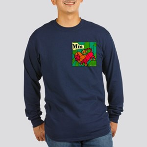 M is for Manticore Long Sleeve Dark T-Shirt