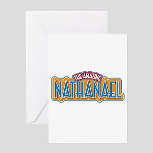The Amazing Nathanael Greeting Card