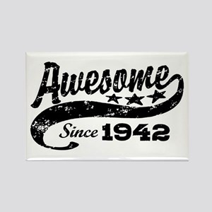 Awesome Since 1942 Rectangle Magnet