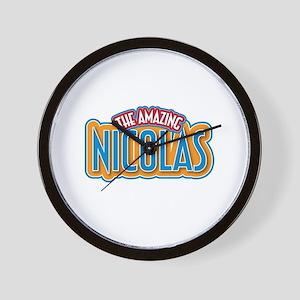 The Amazing Nicolas Wall Clock