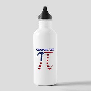 Custom American Pi Water Bottle