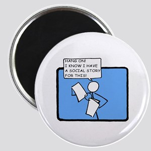 Hang On! (Social Story) Magnet
