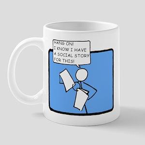 Hang On! (Social Story) Mug