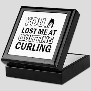 Hardcore Curling designs Keepsake Box