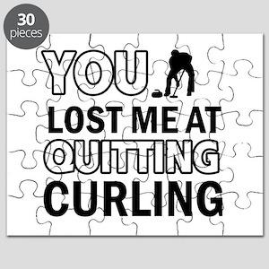 Hardcore Curling designs Puzzle