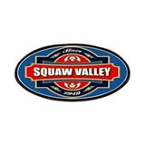Squaw valley ski Patches