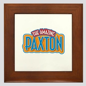 The Amazing Paxton Framed Tile