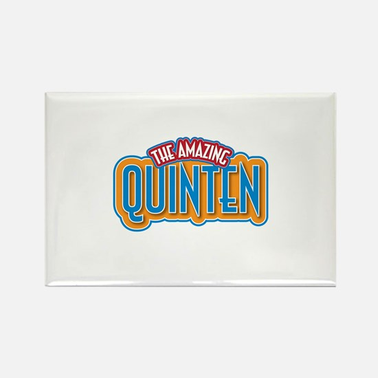 The Amazing Quinten Rectangle Magnet