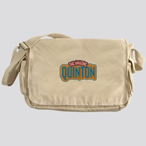 The Amazing Quinton Messenger Bag