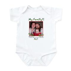 Family ID, Safety Sample Infant Bodysuit