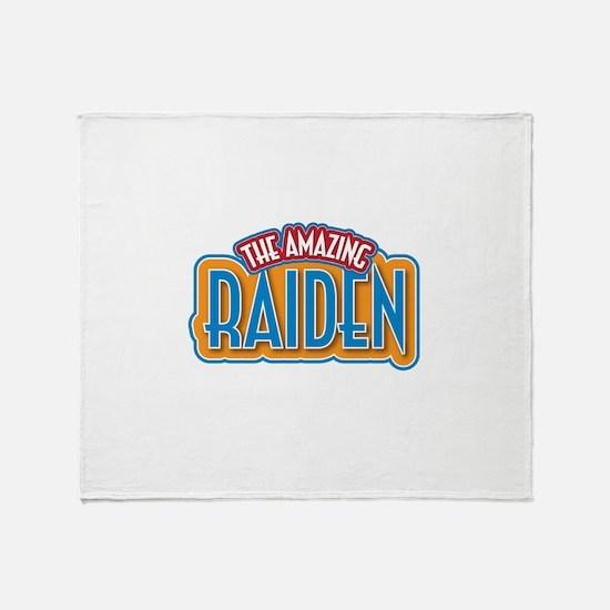 The Amazing Raiden Throw Blanket