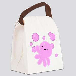 Octobubble Canvas Lunch Bag