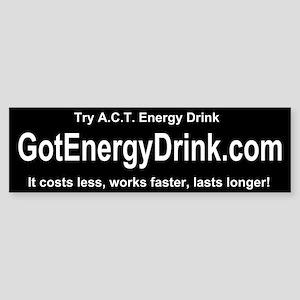 got energy drink .com Bumper Sticker