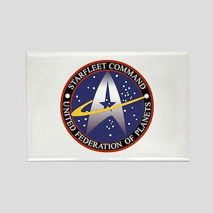 Starfleet Command Emblem Rectangle Magnet