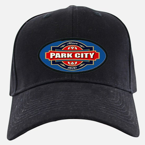 Park City Old Label Baseball Hat