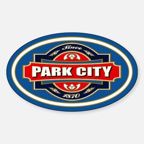 Park City Old Label Sticker (Oval)