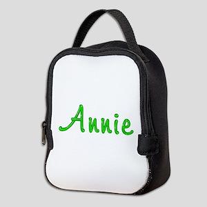 Annie Glitter Gel Neoprene Lunch Bag