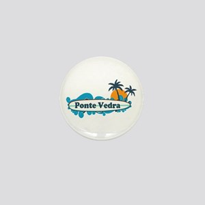 Ponte Vedra - Surf Design. Mini Button