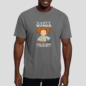 Nasty Women Scientist Ma Mens Comfort Colors Shirt