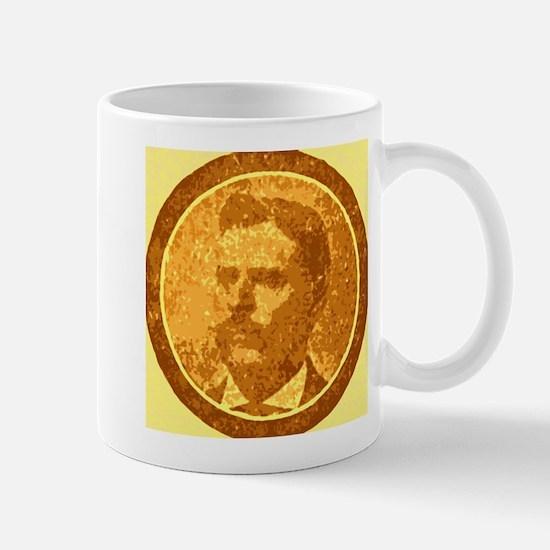 man with the moustache Mug