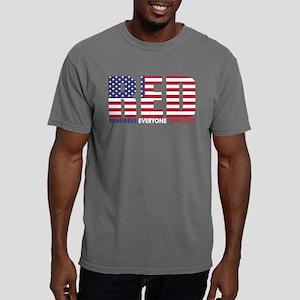 Red Remember Everyone De Mens Comfort Colors Shirt
