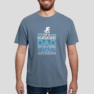 Im Mountain Biking Dad L Mens Comfort Colors Shirt