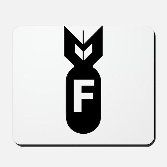 F Bomb, F-Bomb Mousepad