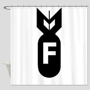 F Bomb, F-Bomb Shower Curtain
