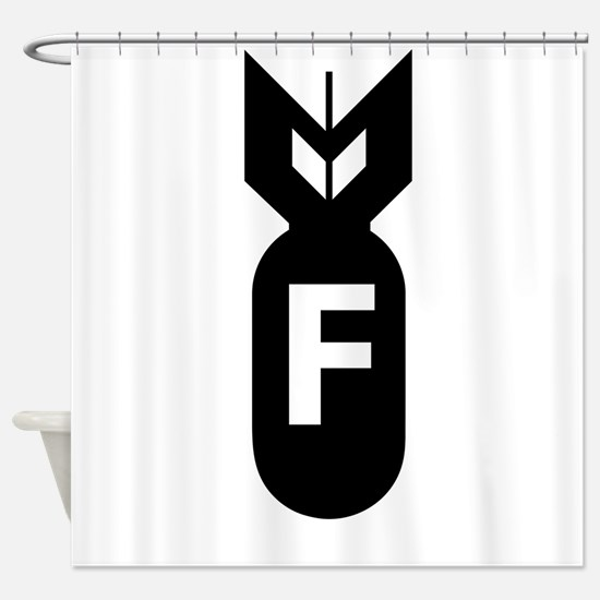 F Bomb, F-Bomb Shower Curtain