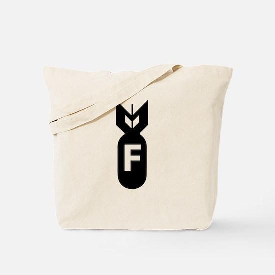 F Bomb, F-Bomb Tote Bag
