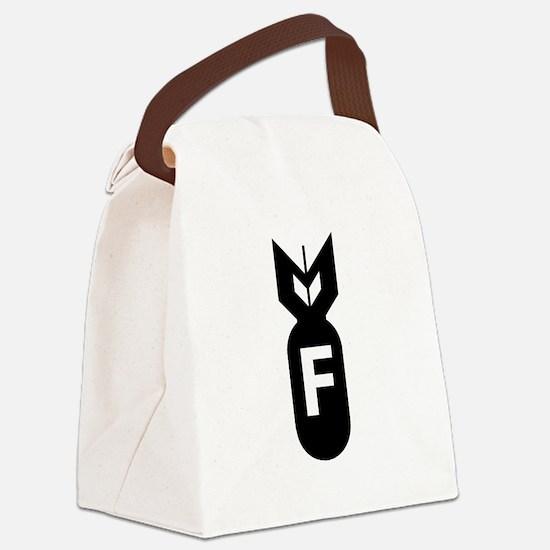 F Bomb, F-Bomb Canvas Lunch Bag