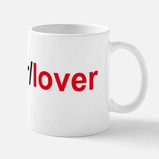 fighter/lover Mug