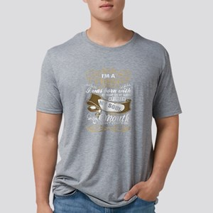 Im A Virgo Woman I Was Born Mens Tri-blend T-Shirt