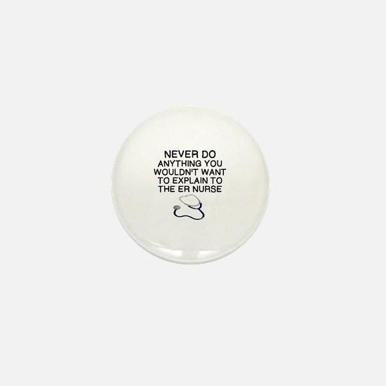 Unique Emergency nurse Mini Button