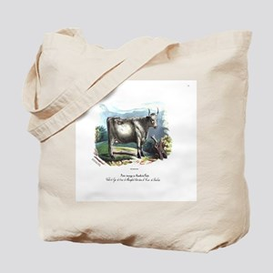 PL 1 Cow Tote Bag