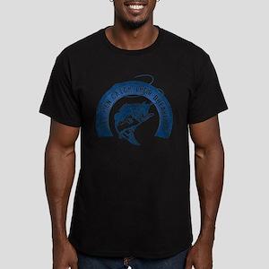 Reel Men Catch Breakfast 2 Men's Fitted T-Shirt (d