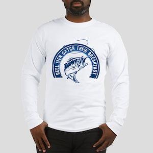 Reel Men Catch Breakfast 2 Long Sleeve T-Shirt