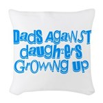 Dads Against Daughters Growing Up Woven Throw Pill