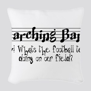 Marching Band Woven Throw Pillow