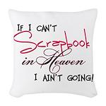 heavenscrap Woven Throw Pillow