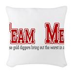 Team Mel Woven Throw Pillow