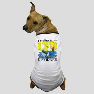 CFD - Compulsive Fishing Disorder Dog T-Shirt