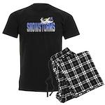 Snowstorms - Good Thing Men's Dark Pajamas