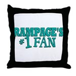 rampages fan.png Throw Pillow