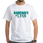 rampages fan.png White T-Shirt
