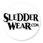 sledwear.png Round Car Magnet