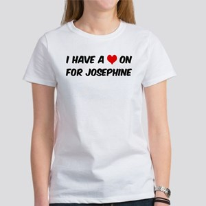 Heart on for Josephine Women's T-Shirt