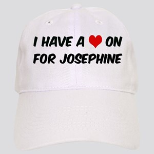 Heart on for Josephine Cap